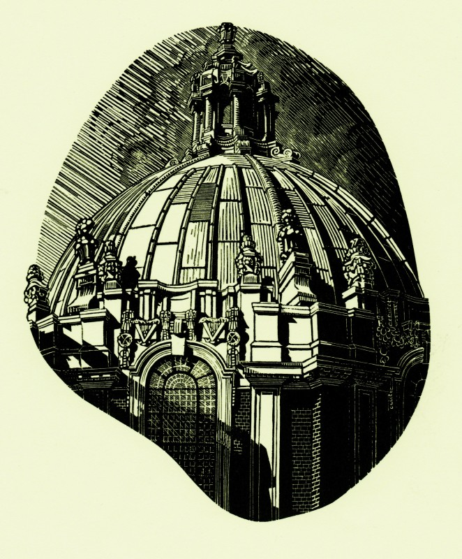 Anne Desmet RA RE, Library Dome