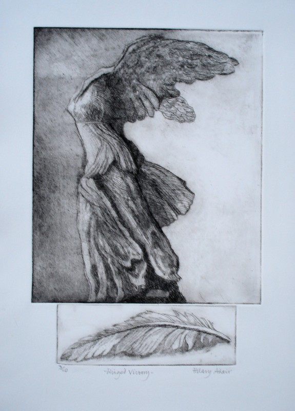 Hilary Adair RE, Winged Victory