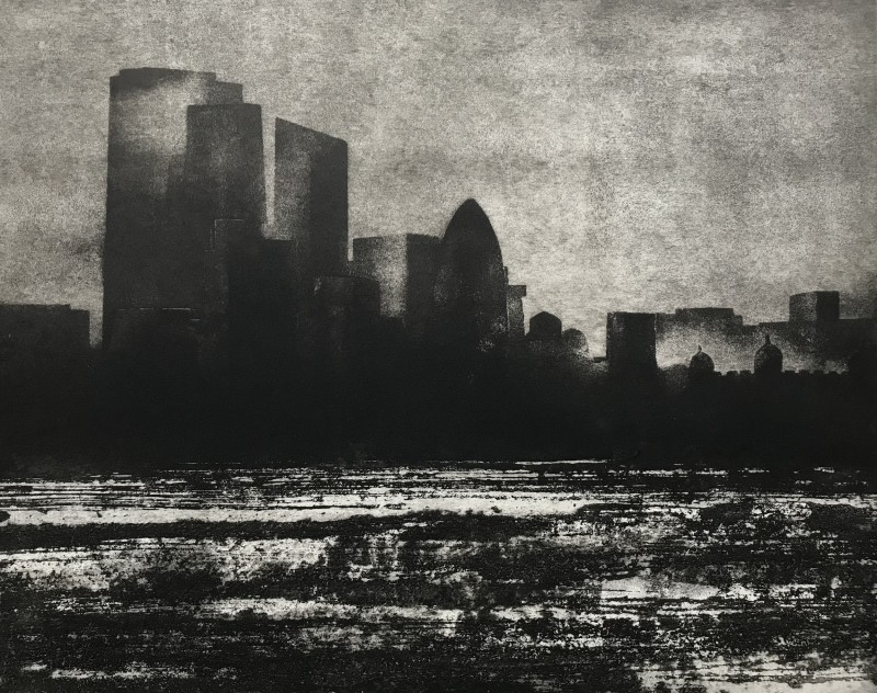 Jason Hicklin RE, The Thames, City of London