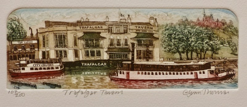 Glynn Thomas RE, Trafalgar Tavern