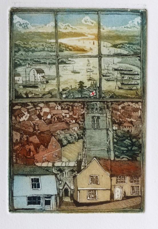 Glynn Thomas RE, St Mary's Woodbridge