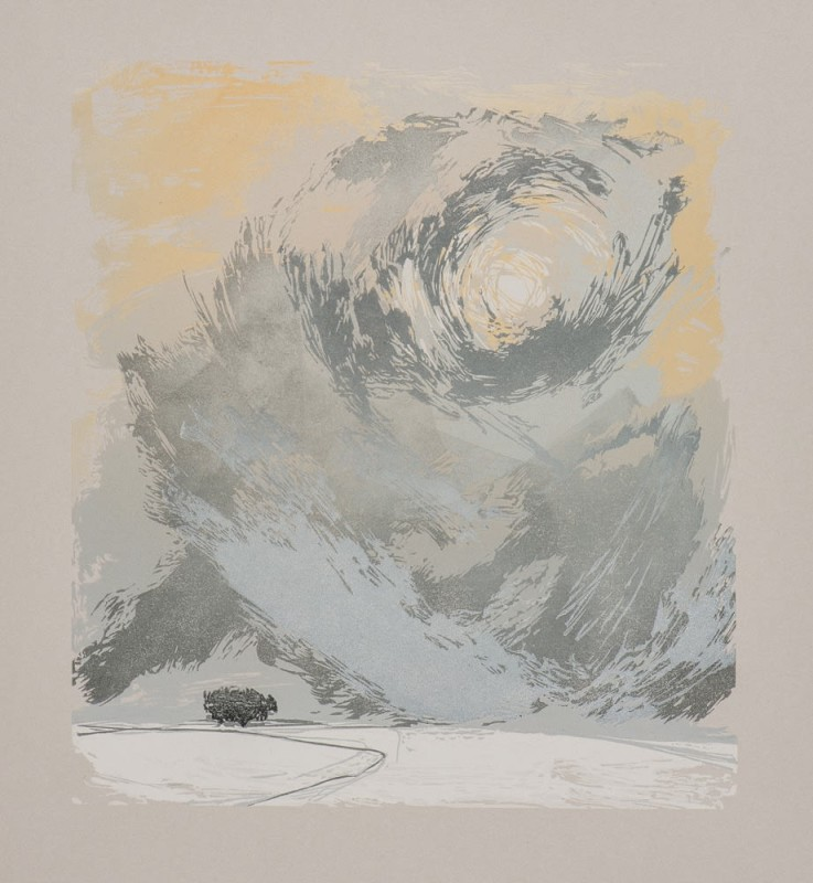 Laura Boswell ARE, Light Study: Storm