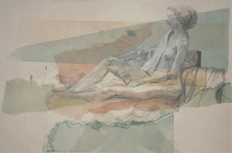 Daphne Casdagli RE, Reclining Life