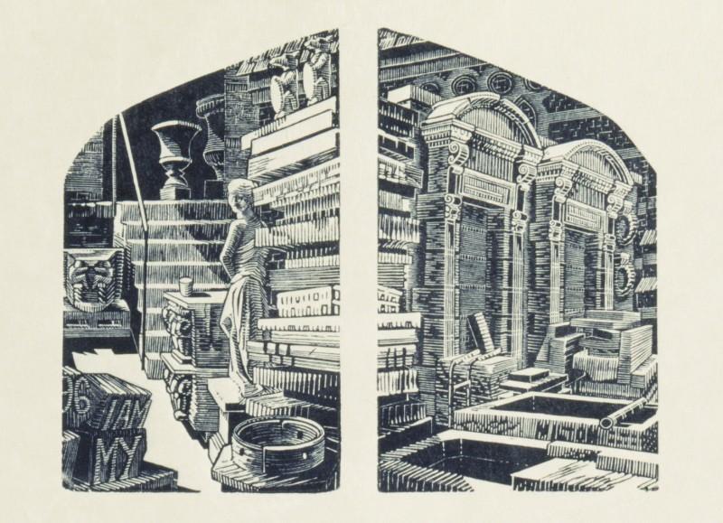 Anne Desmet RA RE, Architectural Salvage, Hoxton