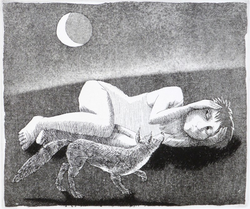 Frans Wesselman RE, The Girl Who Was Afraid of The Moon