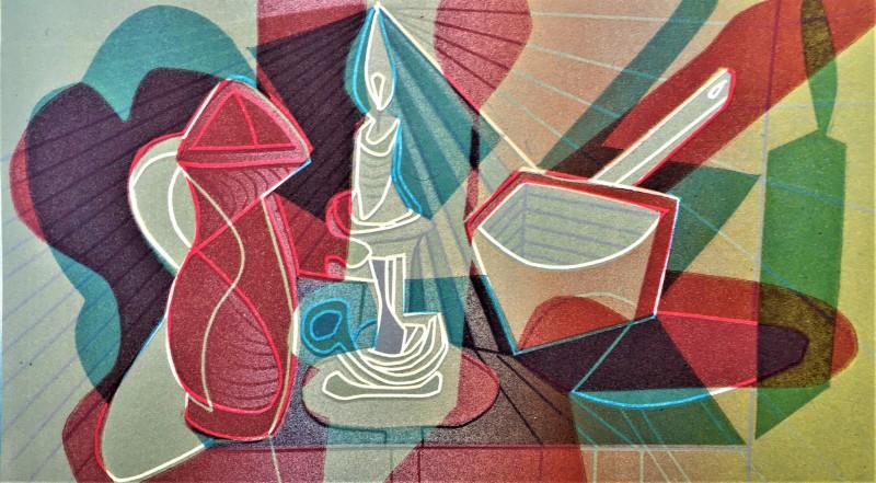 Dale Devereux Barker RE, Homage to Picasso I