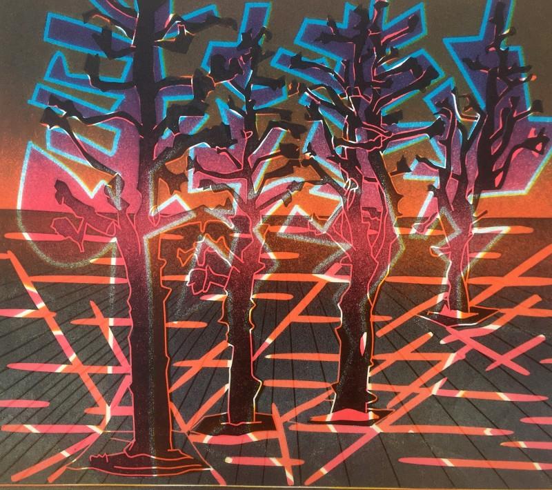 Dale Devereux Barker RE, Norwegian Trees IV