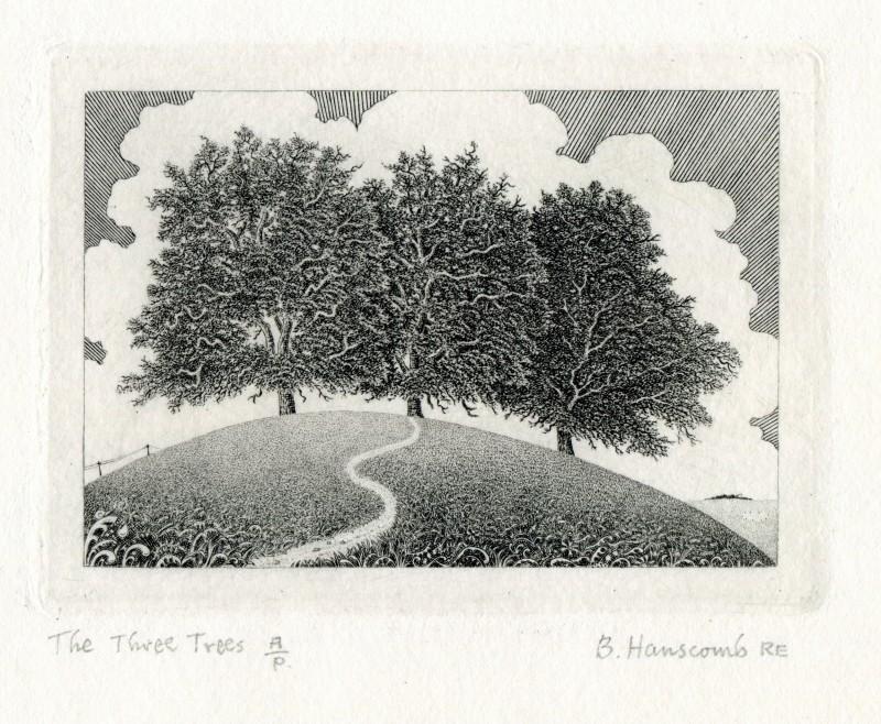Brian Hanscomb RE, The Three Trees