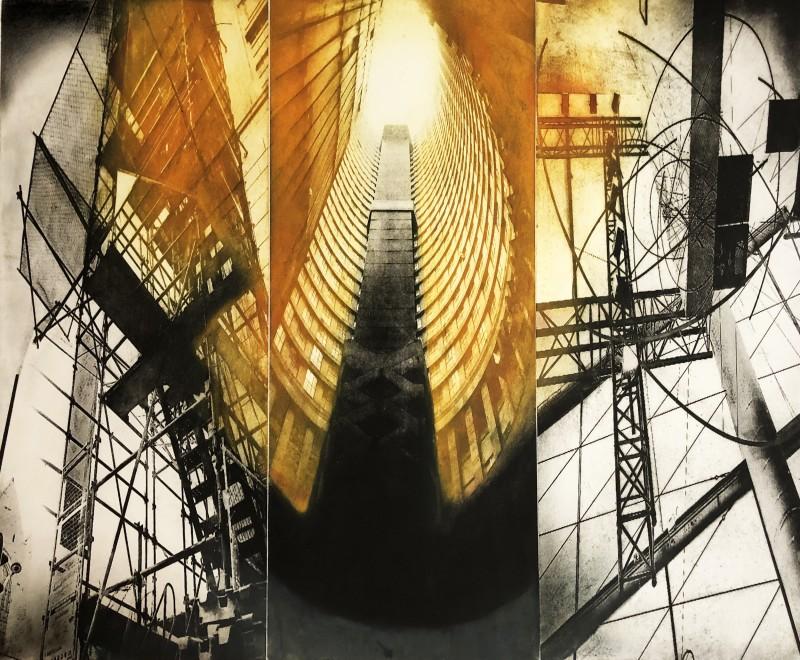 Sumi Perera RE, Regeneration - The Triptych III