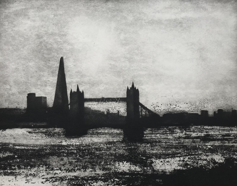 Jason Hicklin RE, The Thames, Pool of London