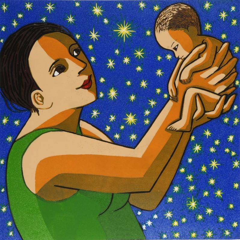 Anita Klein PPRE Hon RWS, The Miracle