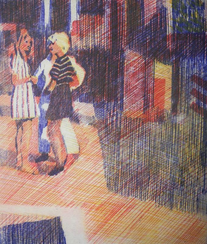 Adrian Bartlett RE, Street Scene