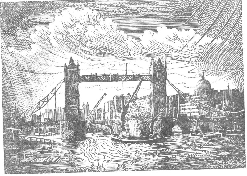 John Bryce RE, Tower Bridge