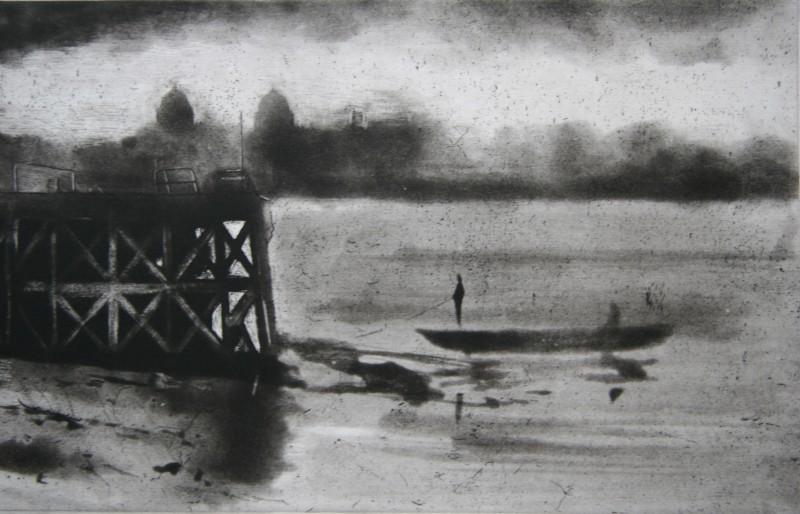Nick Richards RE, Last of Enderby Wharf