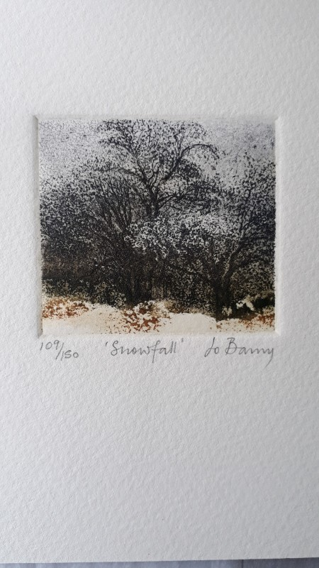 Jo Barry RE, Snowfall