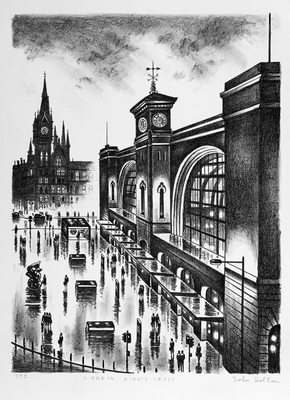 John Duffin RE, London King's Cross