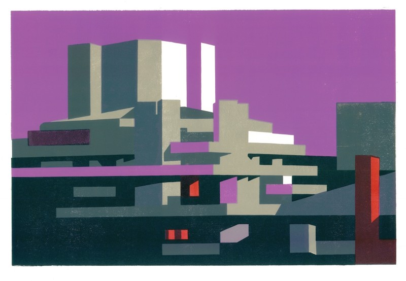 Paul Catherall RE, National Magenta