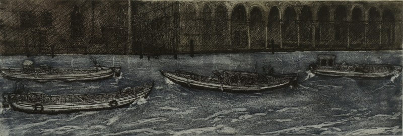 Ros Ford RE , Venice Boats V (Canal Grande)
