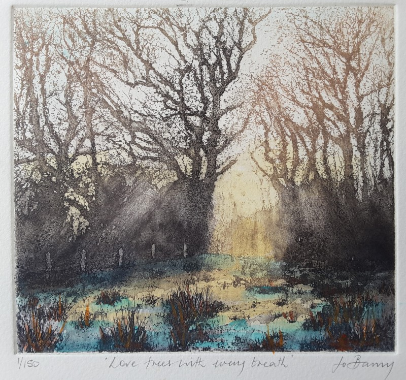 Jo Barry RE, Love trees with every breath
