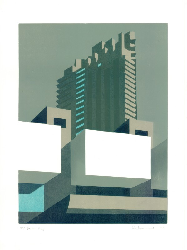 Paul Catherall RE, Barbican Grey