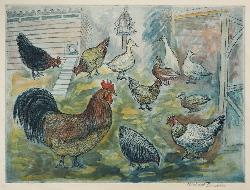 Richard Bawden RWS RE, Henry and Friends
