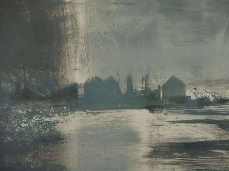 Kate Dicker RE, Grey Estuary