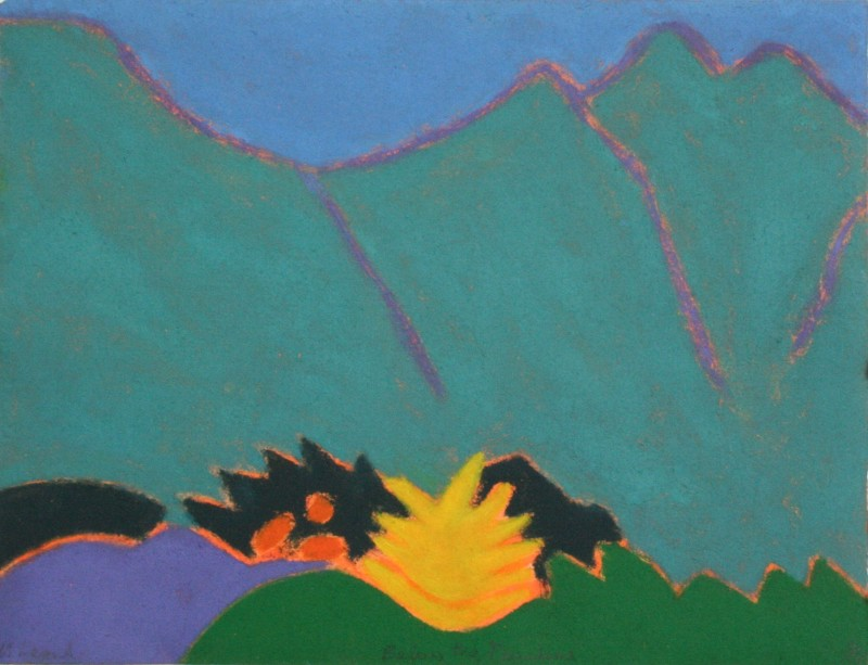 Ursula Leach RE, Below the Mountain