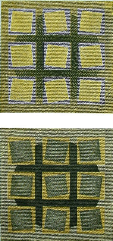 Edwina Ellis RE, Squares by 2