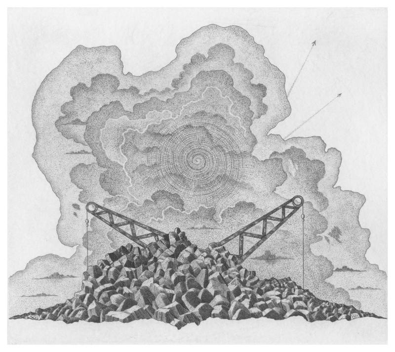 Brian Hanscomb RE, Quarry & Stormclouds
