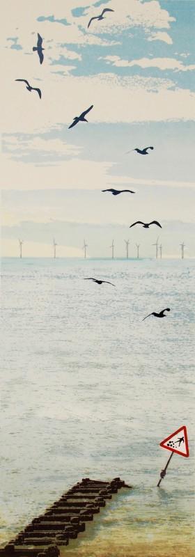 Janet Brooke RE, Rottingdean Morning x1