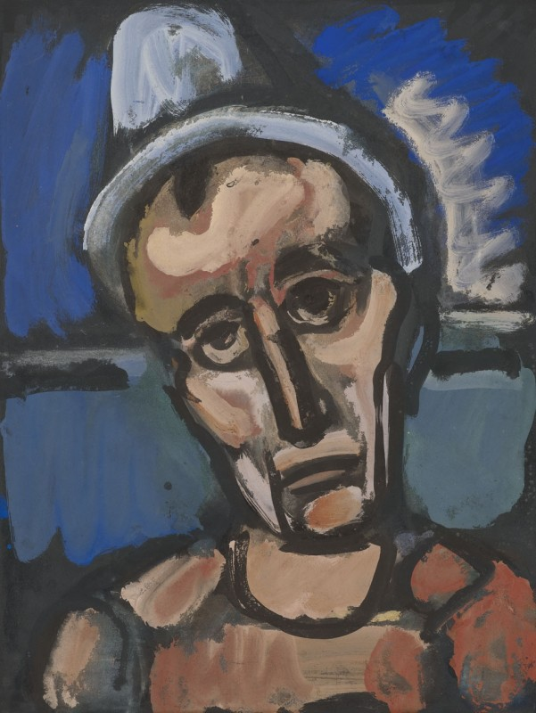 Georges Rouault, 'Qui Ne se Grime Pas? [Who does not put on make-up?] c.1930s