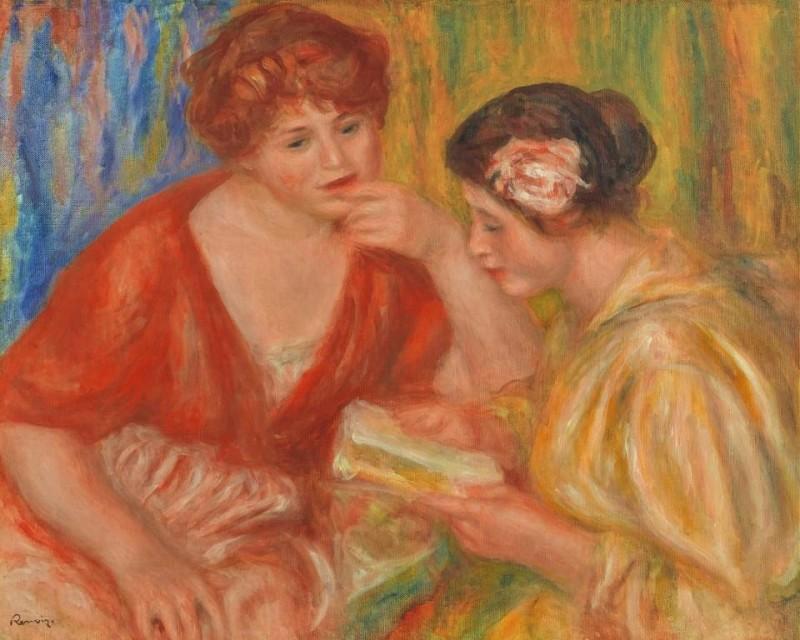 Pierre-Auguste Renoir, 'La Lecture' 1918