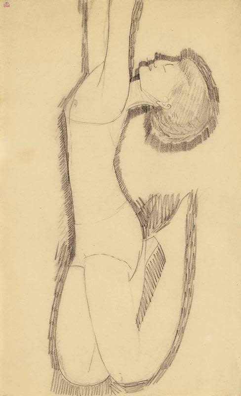 Amedeo Modigliani, 'Anna Akhmatova as Acrobat' 1911