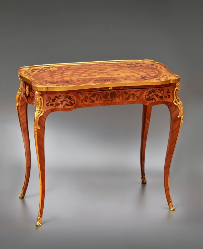 A Louis XV table à ecrire by Pierre II Migeon, Paris, date circa 1755