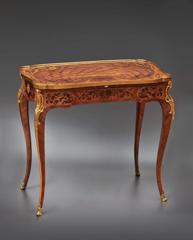A Louis XV table à ecrire , Paris, date circa 1755