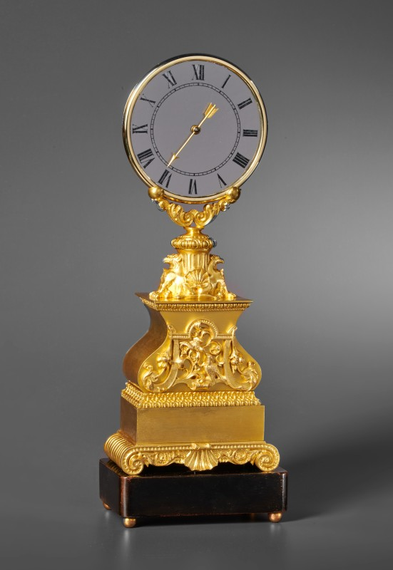 A mid 19th Century Mystery clock by Jean Eugene Robert-Houdin, Paris, date circa 1840