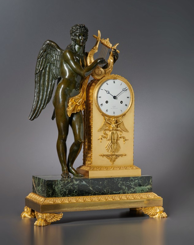 An Empire clock by Claude Galle, Paris, date circa 1805