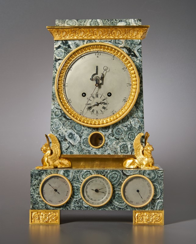 A Louis Philippe astronomical table regulator with secular perpetual calendar attributed to Lépine à Paris, Paris, date circa 1845