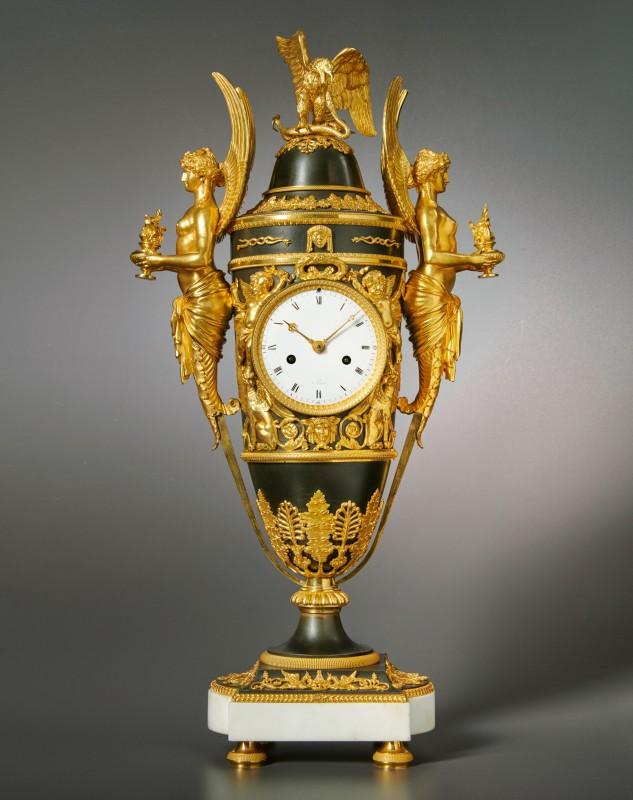 An Empire Pendule 'aux Victoires' , Paris, date circa 1805-10