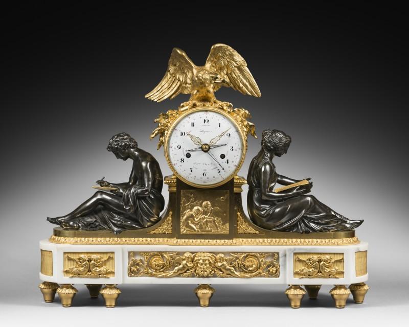 A Louis XVI figural clock by Pierre-Claude Raguet-Lépine, Paris, date circa 1780-85