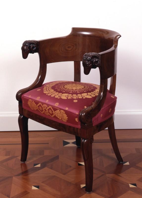 An Empire fauteuil by Jacob-Desmalter et Cie , Paris, date circa 1805-25