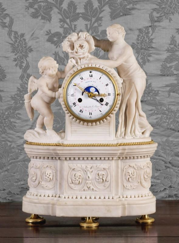 A Louis XVI mantel clock by Arthaults Le Jeune à Paris, Paris, date circa 1785