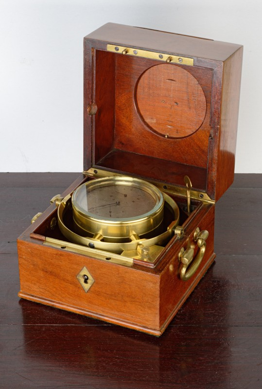 A Louis XVIII two day marine chronometer by Berthoud Frères, Argenteuil, date circa 1818