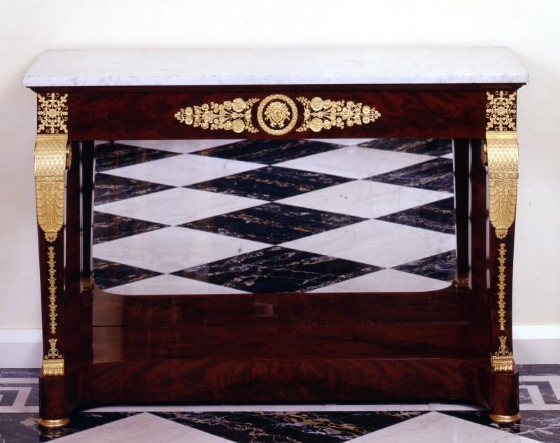 An Empire console by Alexandre Maigret, Paris, date circa 1810