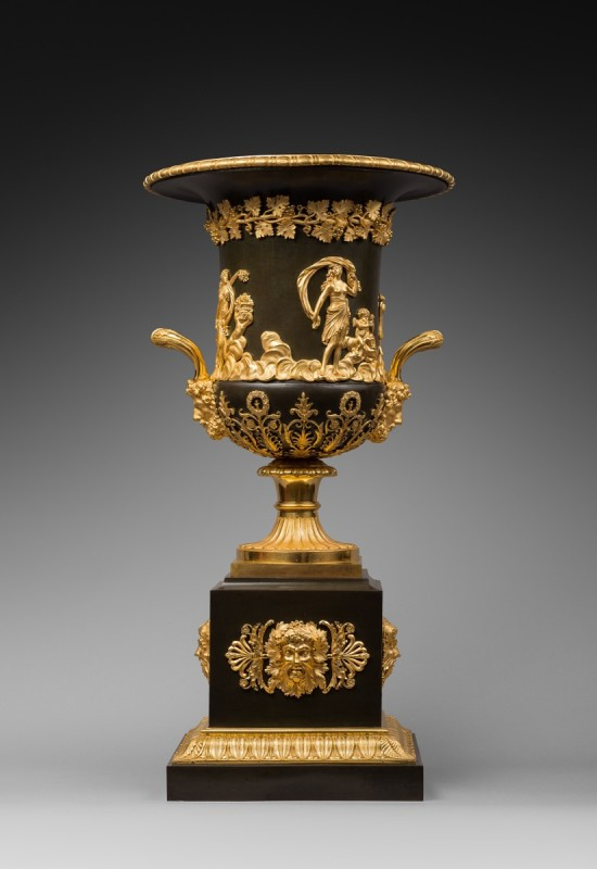 An Empire Campagna urn, attributed to Pierre-Philippe Thomire, Paris, date circa 1805