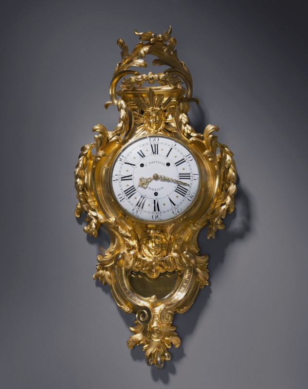 A Louis XV cartel clock by Jean Baptiste Baillon III, Paris, date circa 1750-55