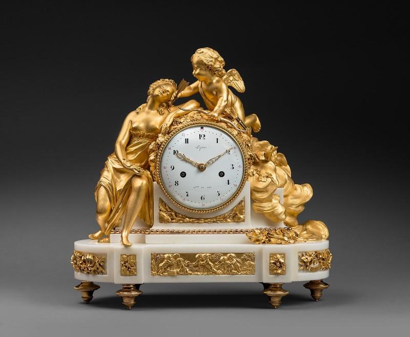 A Louis XVI mantel clock by Jean-Antoine Lépine, Paris, date circa 1775-80