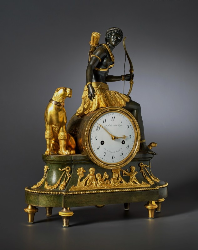 An Empire 'Pendule l'Afrique' by Jean-Simon Deverberie, Paris, date circa 1812-15