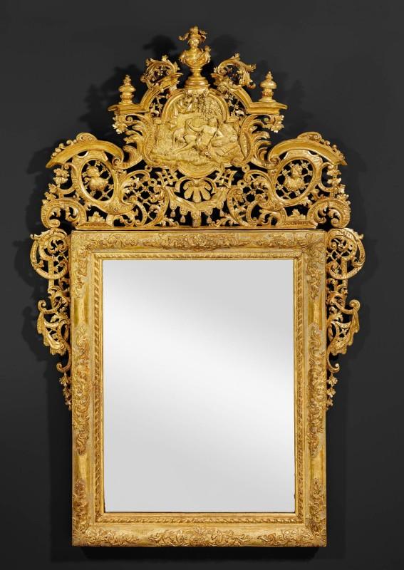 A Venetian Baroque ceremonial mirror, Venice, date circa 1740