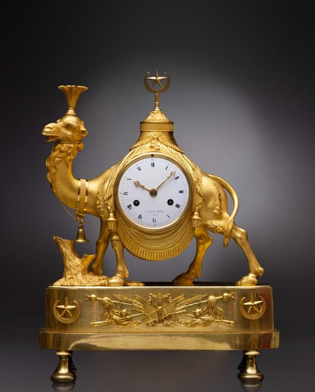 An Empire pendule 'au dromadaire' by Basile-Charles Le Roy, Paris, date circa 1810